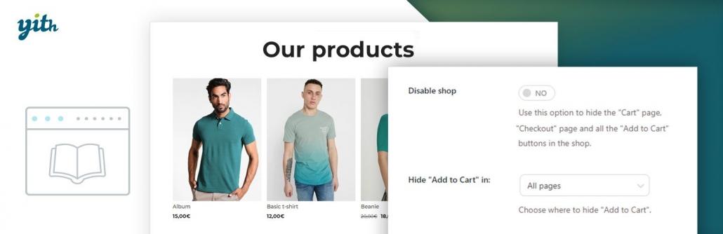 워드프레스 우커머스 쇼핑몰을 전자 카탈로그 사이트로 바꾸는 방법 - YITH WooCommerce Catalog Mode 플러그인