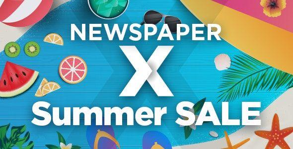 워드프레스 인기 매거진 테마 뉴스페이퍼 여름 할인
