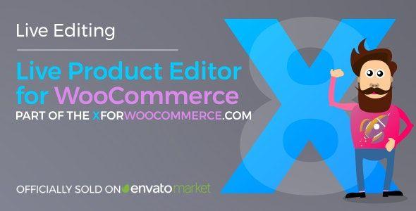 ウコマース用のライブグッズエディタのプラグイン -  Live Product Editor for WooCommerce無料ダウンロード