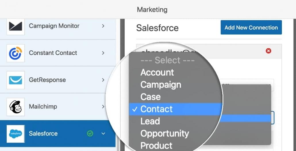 워드프레스와 Salesforce 연동