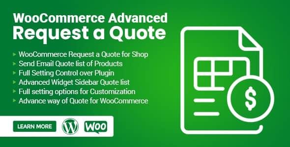 WooCommerce 請求済みのプラグインWooCommerce Advanced Request a Quote無料ダウンロード