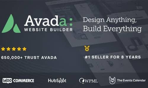 WordPress ベストセラーのテーマ Avada Avada