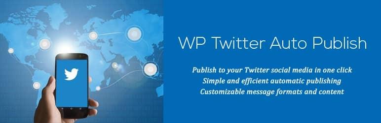 WordPress Twitter 自動投稿プラグインWP Twitter Auto Publish