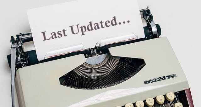 GeneratePressテーマ:ポストに更新日を表示する