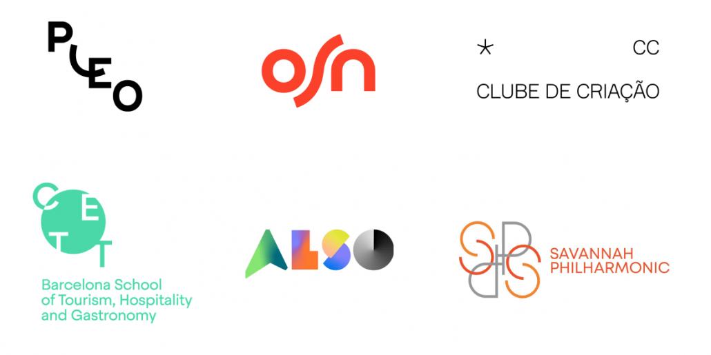 2021年10代のロゴデザインのトレンド - 無秩序なパターン