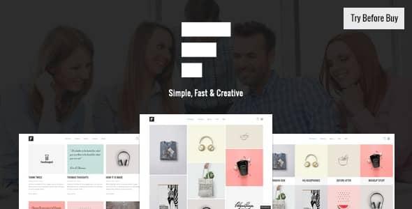Fizz  -  Responsive WordPress Portfolio Theme(反応型 WordPress ポートフォリオのテーマ)