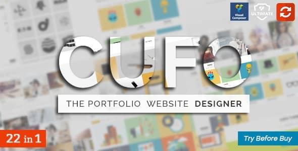 Cufo  -  Responsive WordPress Portfolio Theme(反応型 WordPress ポートフォリオのテーマ)