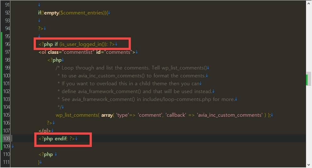 WordPress コメントを会員にのみ表示するように設定する方法
