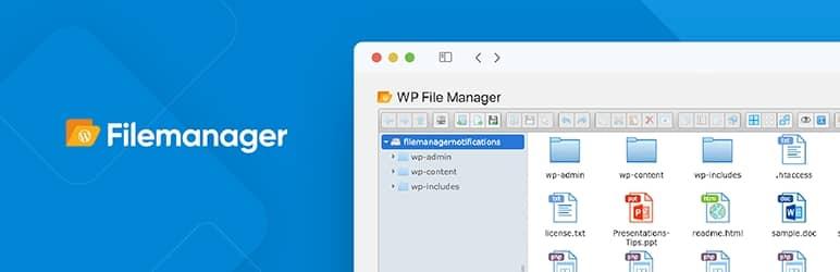 WordPress ファイルマネージャのプラグイン -  File Manager