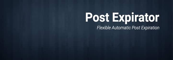 Post Expiratorプラグインを使用して WordPress ポストの有効期限を設定する