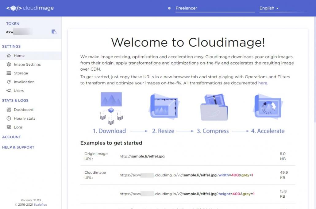 Cloudimageサービスの動作原理