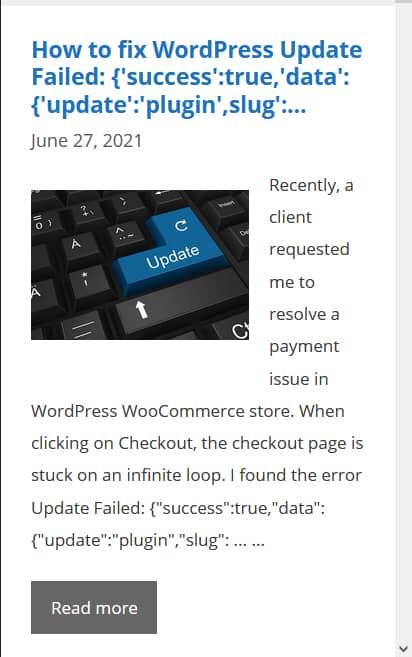 WordPress GeneratePress サムネイルの位置を調整