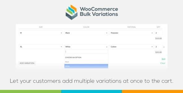 WooCommerce 大量のオプション商品のプラグイン - コードキャニオンプラグイン