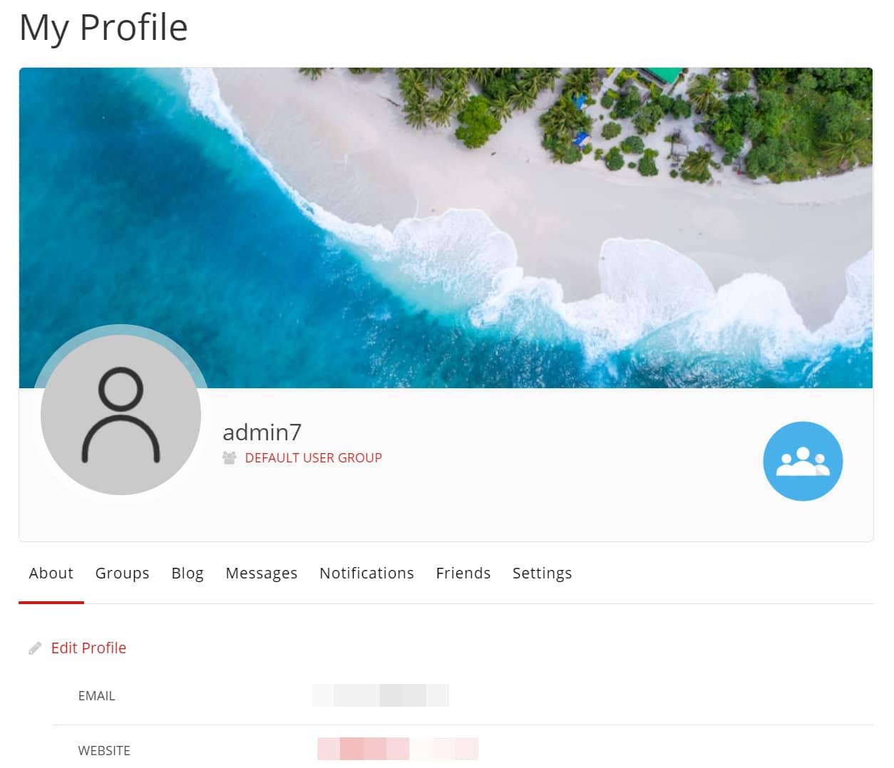 워드프레스 사용자 프로필 플러그인 ProfileGrid